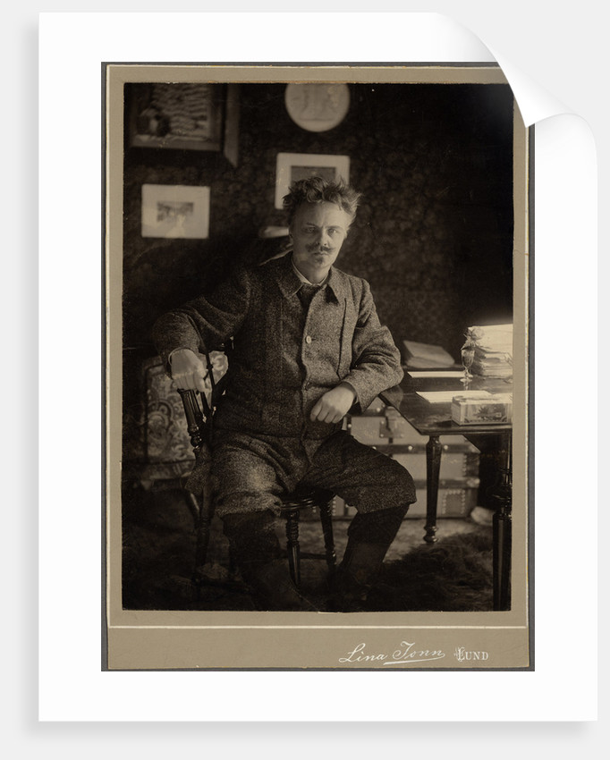 August Strindberg by Lina Jonn