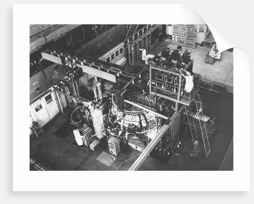 Tokamak T-4 at the Kurchatov Institute of Atomic Energy by Anonymous