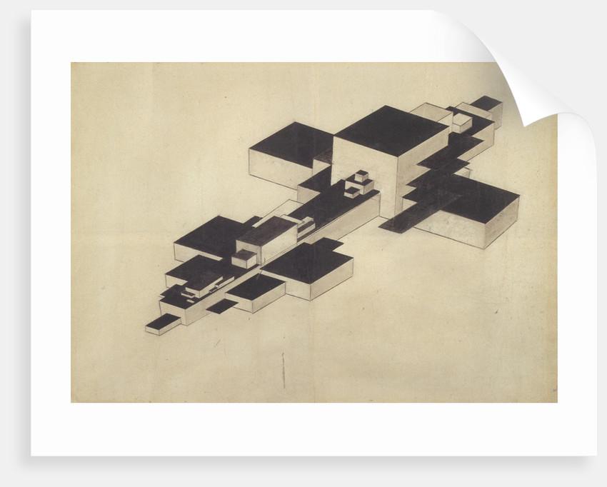 Design for Supremolet (Suprematist Plane) by Ilya Grigoryevich Chashnik