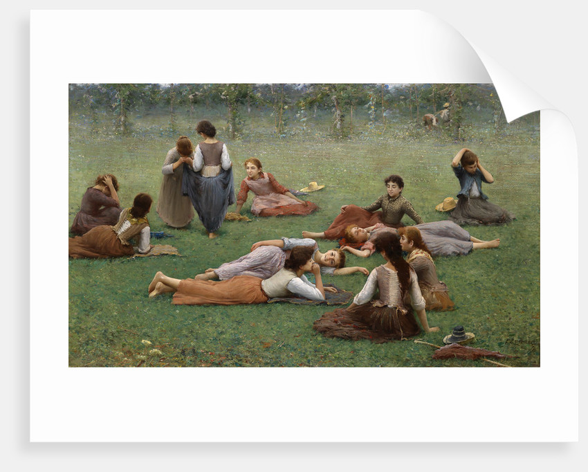 After the Game by Fausto Zonaro