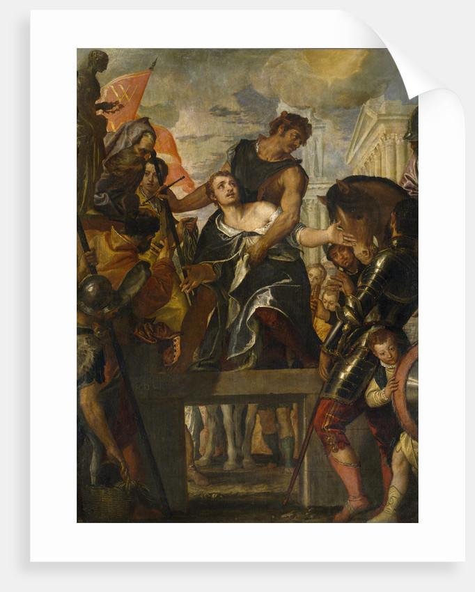 The Martyrdom of Saint Menas by Paolo Veronese