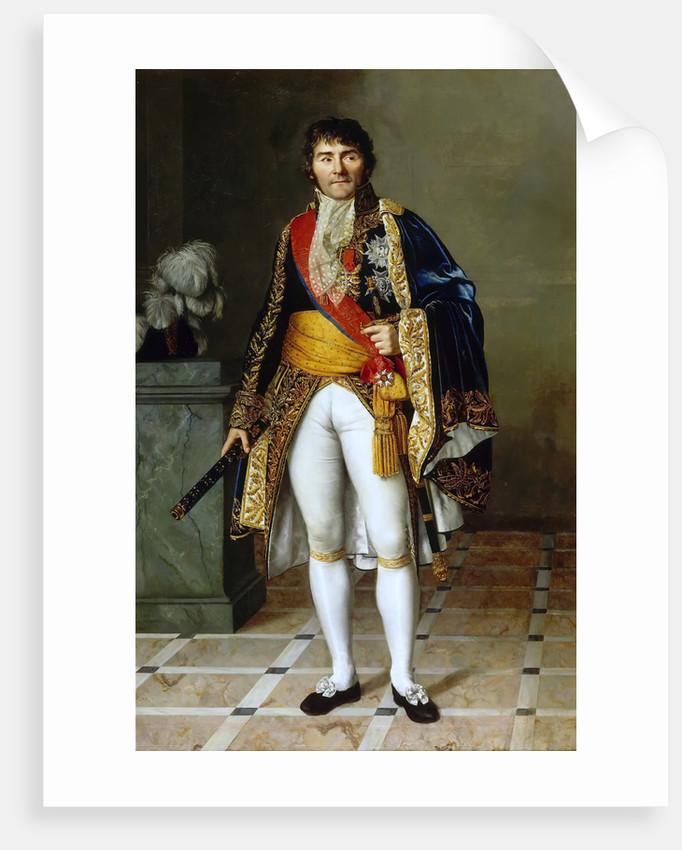 Portrait of François-Joseph Lefebvre, Marshal of the Empire by Césarine Henriette Davin-Mirvault
