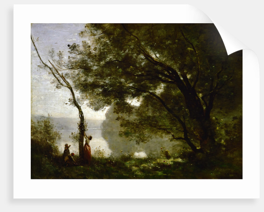 Recollection of Mortefontaine by Jean-Baptiste Camille Corot