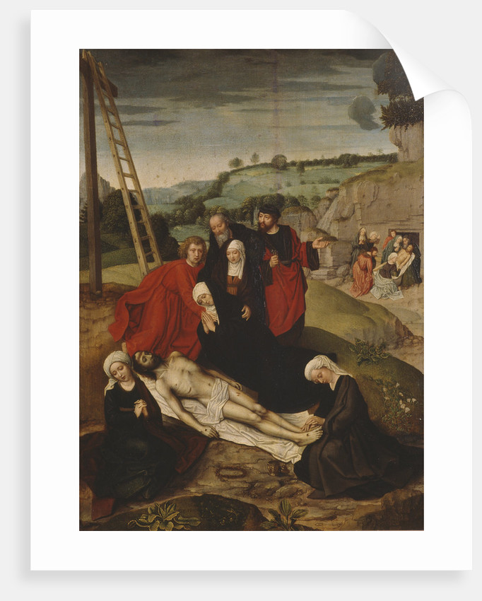 The Lamentation over Christ by Adriaen Isenbrant
