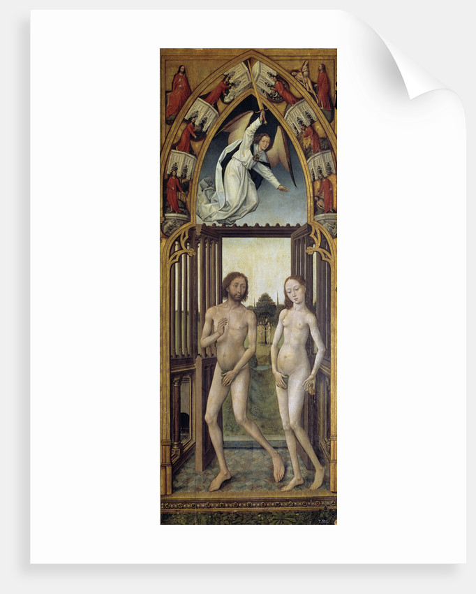 Redemption Tryptich: Expulsion from the Paradise by Vrancke van der Stockt