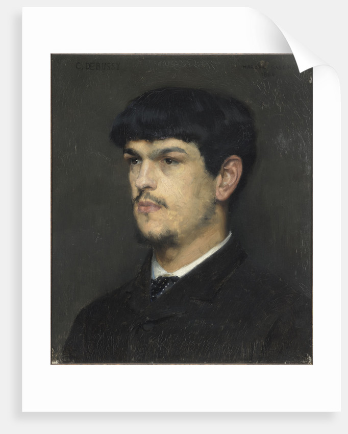 Claude Debussy by Marcel André Baschet