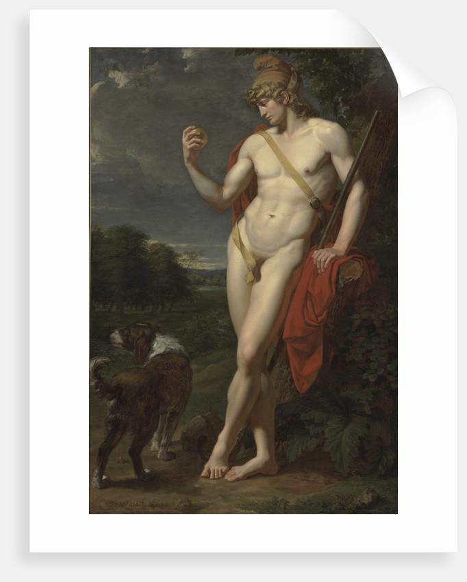 The Shepherd Paris by Jean-Baptiste Frédéric Desmarais