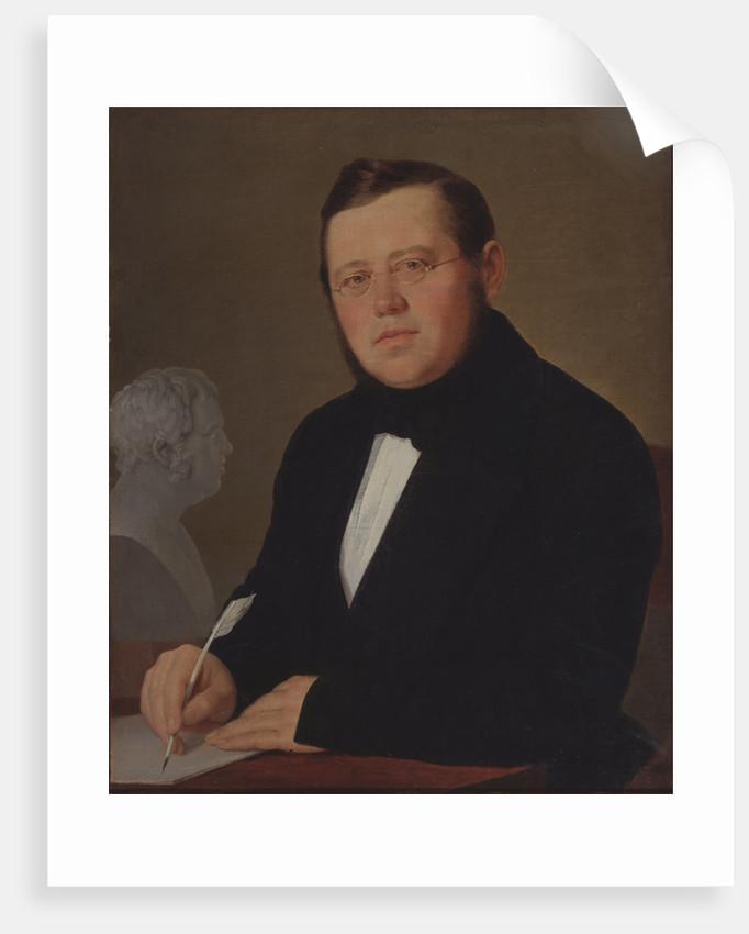 Portrait of the author Mikhail Zagoskin by Vasili Andreyevich Tropinin