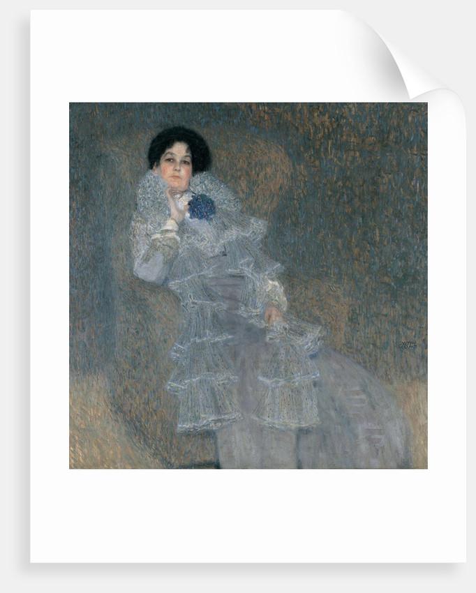Portrait of Marie Henneberg by Gustav Klimt