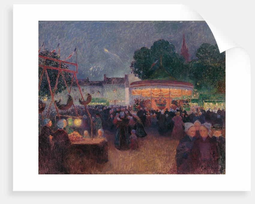 Night Fair at Saint-Pol-de-Léon by Ferdinand Loyen du Puigaudeau