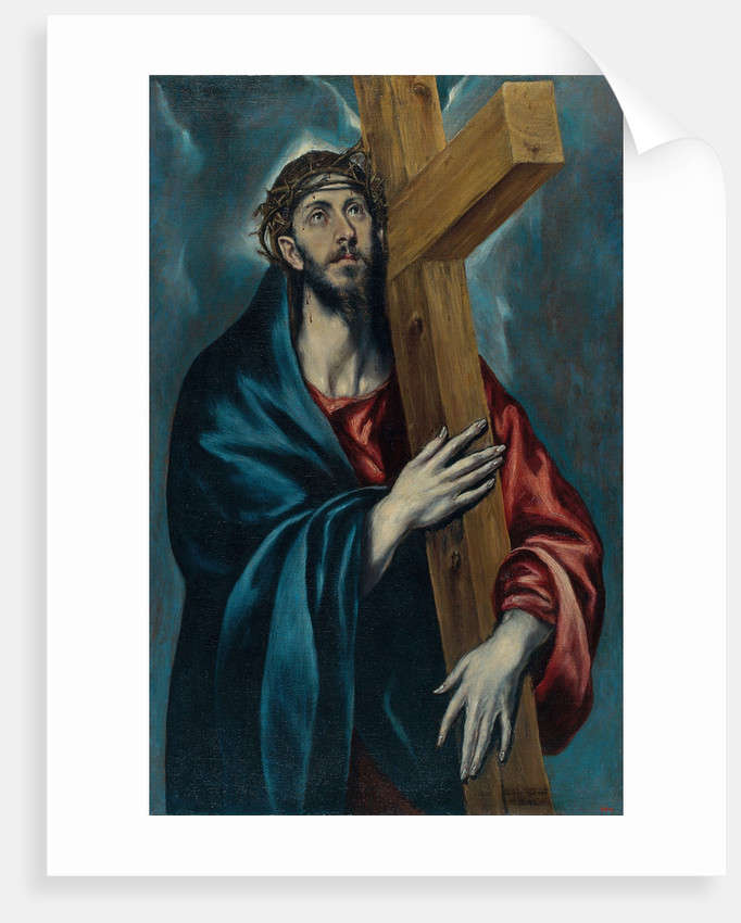 Christ Carrying the Cross by Dominico El Greco
