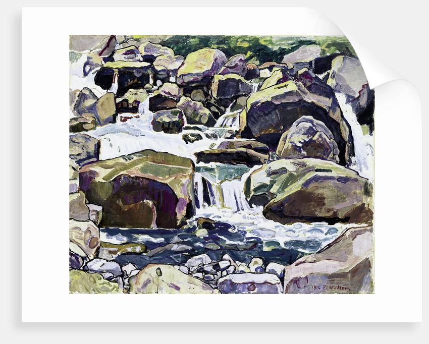Mountain Stream near Champéry by Ferdinand Hodler
