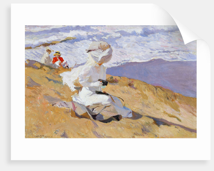 Capture The Moment by Joaquín Sorolla y Bastida