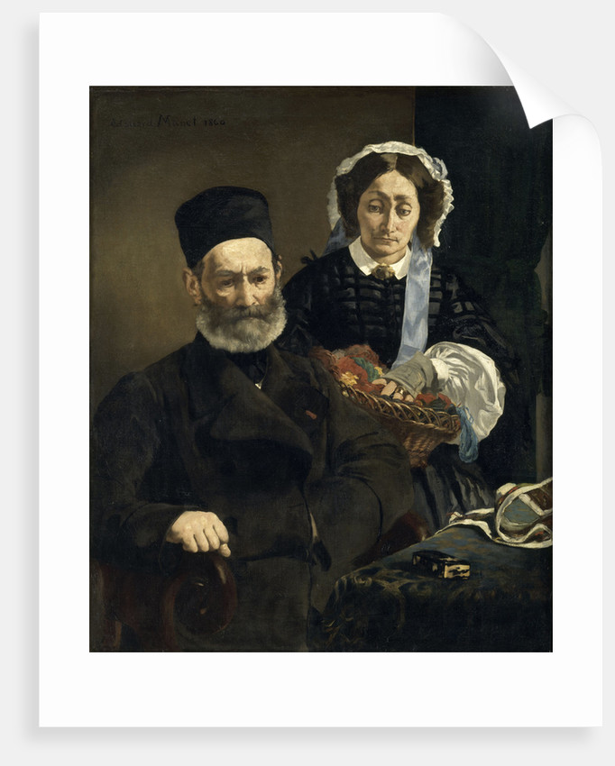 Monsieur and Madame Auguste Manet by Édouard Manet