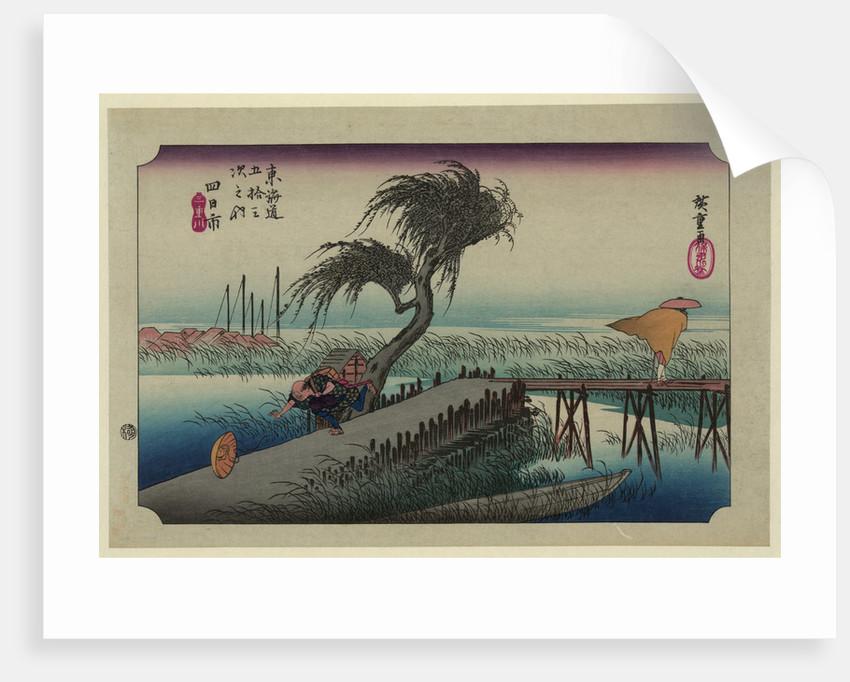 Yokkaichi by Utagawa Hiroshige