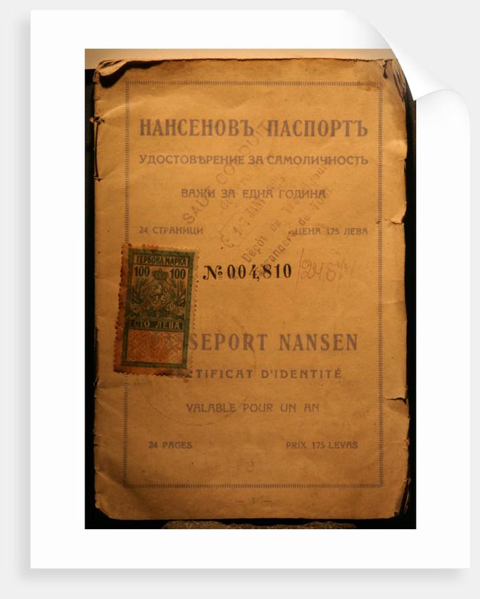 The Nansen passport by Anonymous