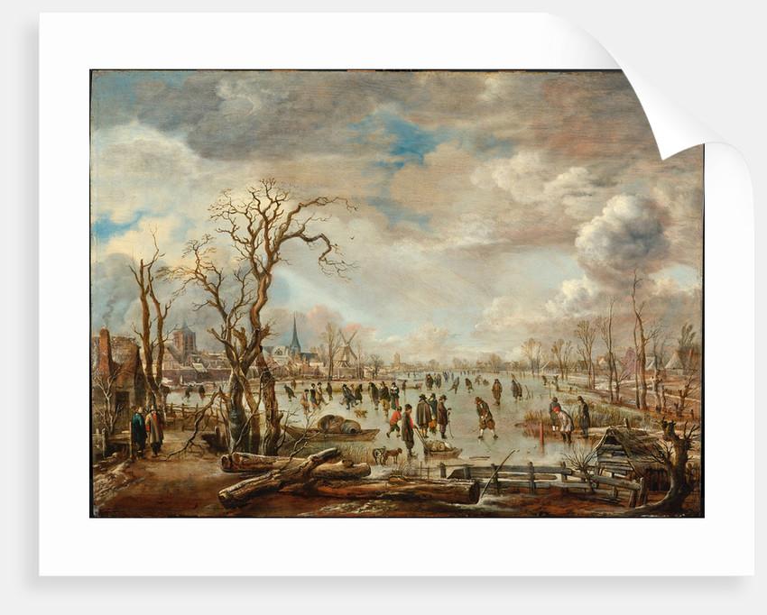 Winter Landscape with Ice pleasures, c. 1655 by Aert van der Neer