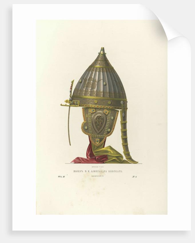 Helmet of Alexander Nevsky, 1840s by Fyodor Grigoryevich Solntsev