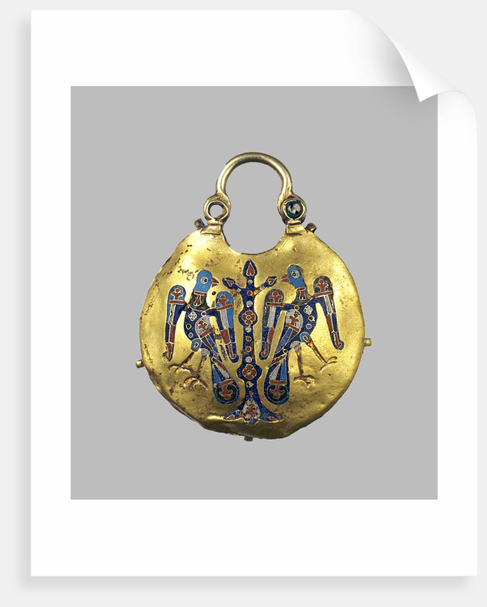 Gold pendant (Kolt), 12th-13th century by Ancient Russian Art