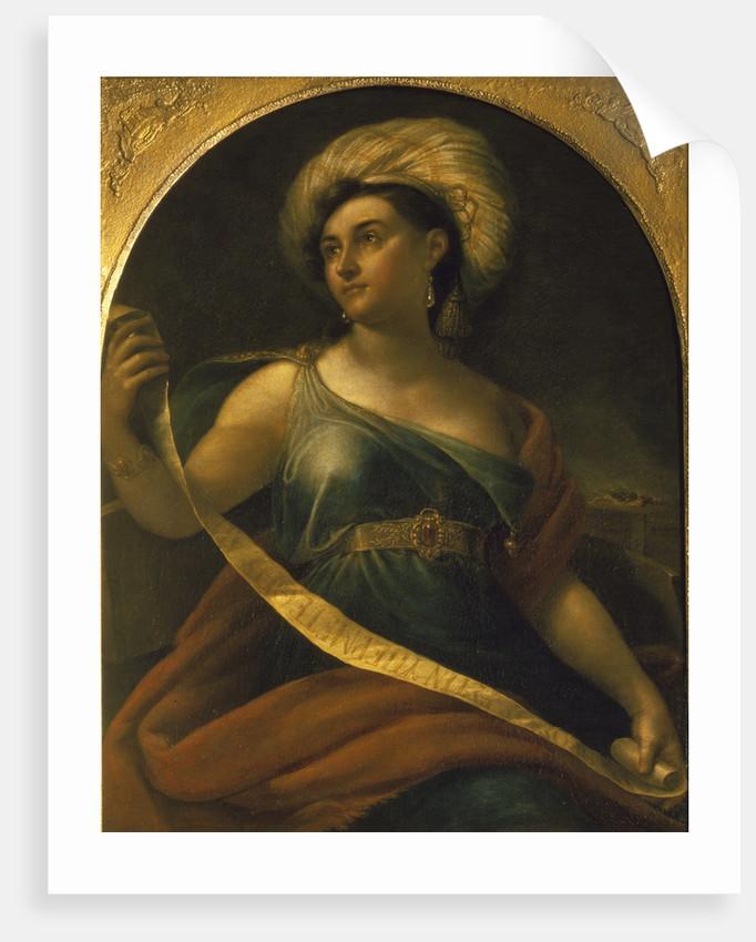 Portrait of the actress Ekaterina Semyonova as Delphic Sibyl, 1828 by Orest Adamovich Kiprensky