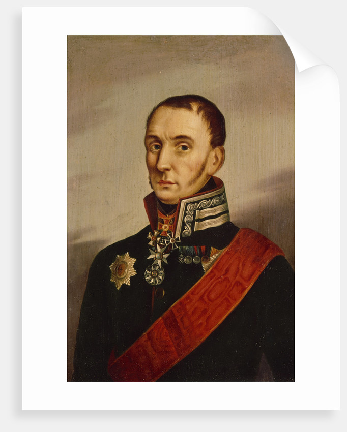 Portrait of Baronet Sir James Wylie, First quarter of 19th century by Anonymous