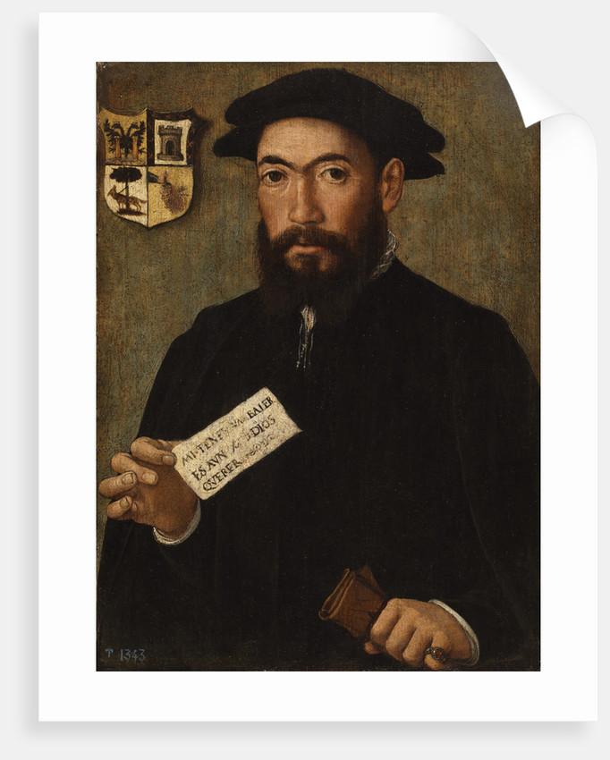 A Conquistador, 1525-1535 by Anonymous