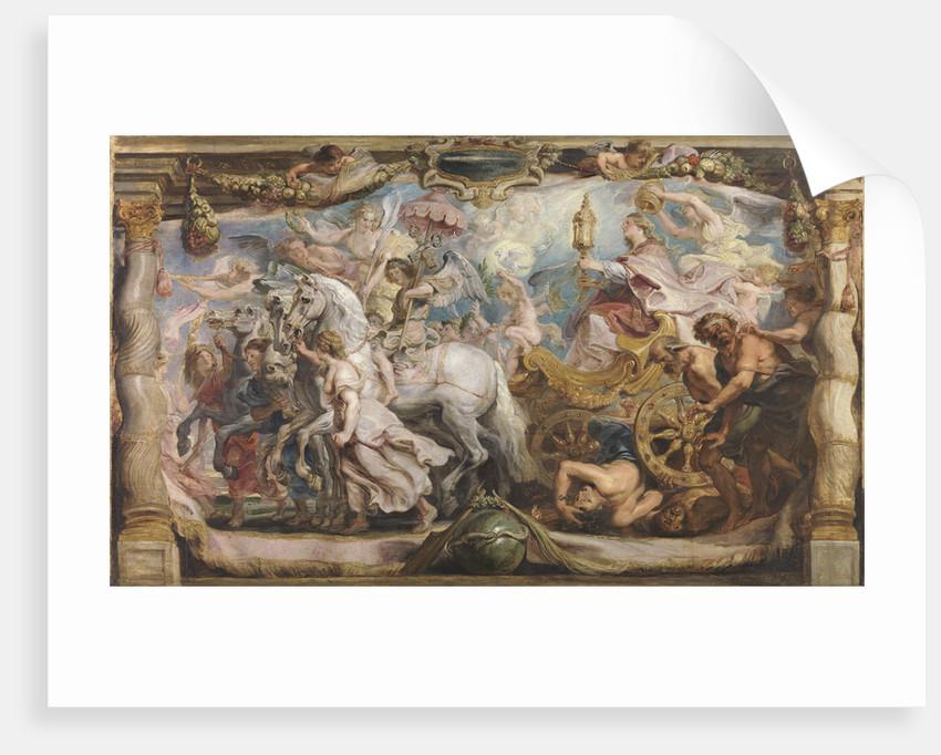 The triumph of the Church, ca 1625 by Pieter Paul Rubens