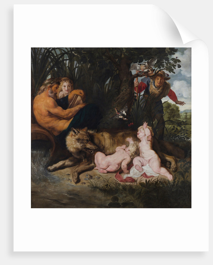 Finding of Romulus and Remus, 1612 by Pieter Paul Rubens