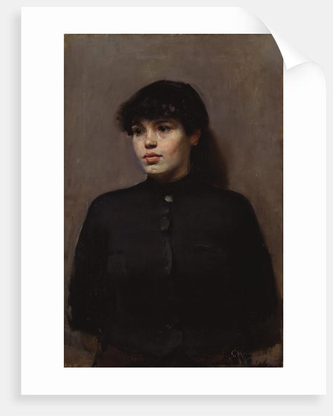 Jossa, 1886 by Christian Krohg