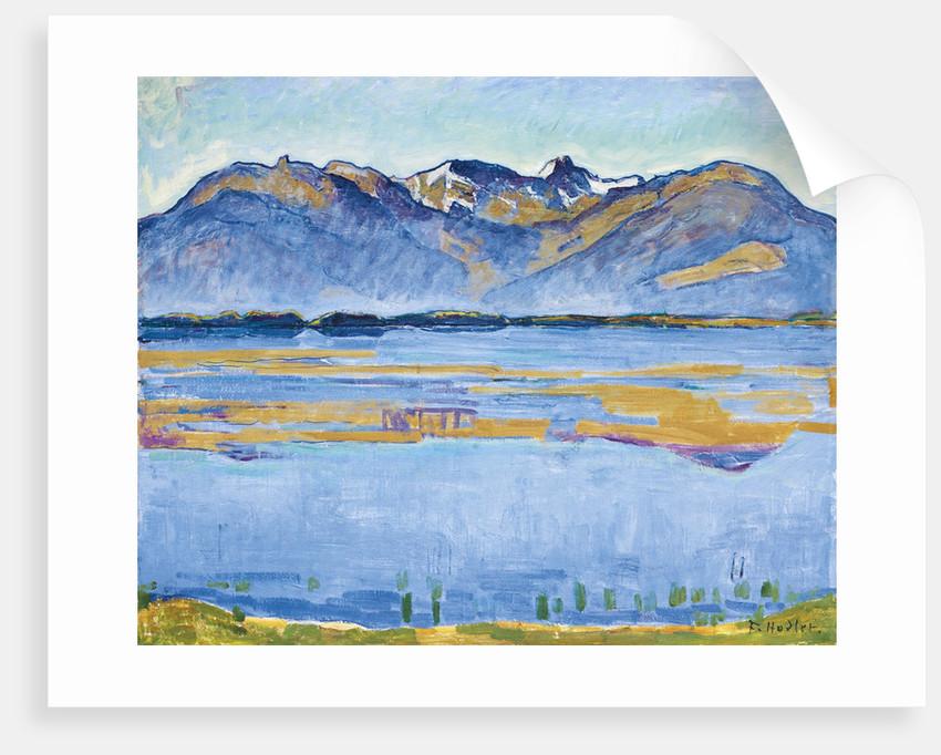 Montana landscape with Becs de Bosson and Vallon de Réchy, 1915 by Ferdinand Hodler