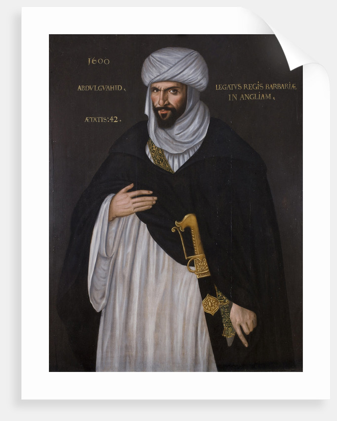 Abd el-Ouahed ben Messaoud ben Mohammed Anoun, ca. 1600 by Anonymous