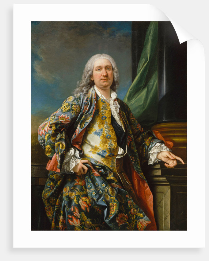 Portrait of an unknown man, ca 1735-1739 by Carle Van Loo