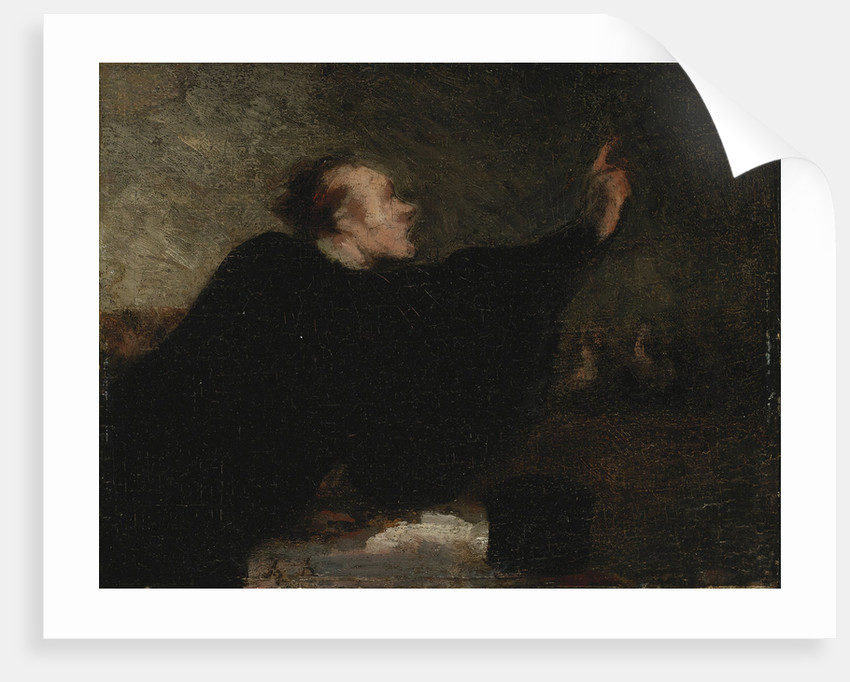 A trial lawyer, 1853-1854 by Honoré Daumier
