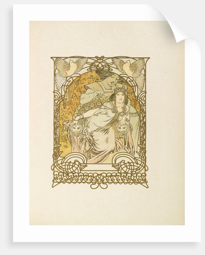 Ilsée, Princesse de Tripoli by Robert de Flers, 1897 by Alfons Marie Mucha