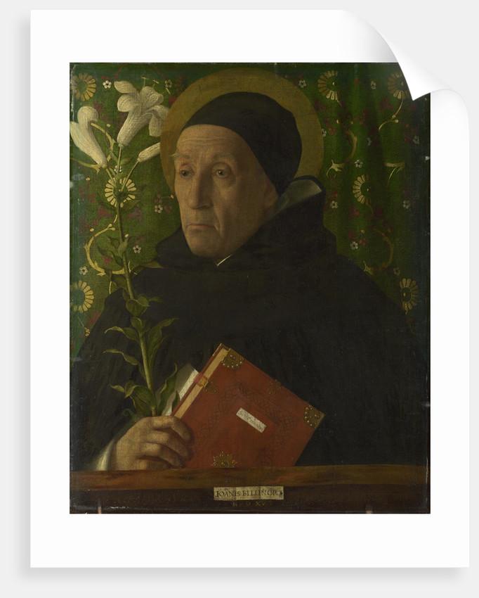 Portrait of Fra Teodoro of Urbino as Saint Dominic, 1515 by Giovanni Bellini