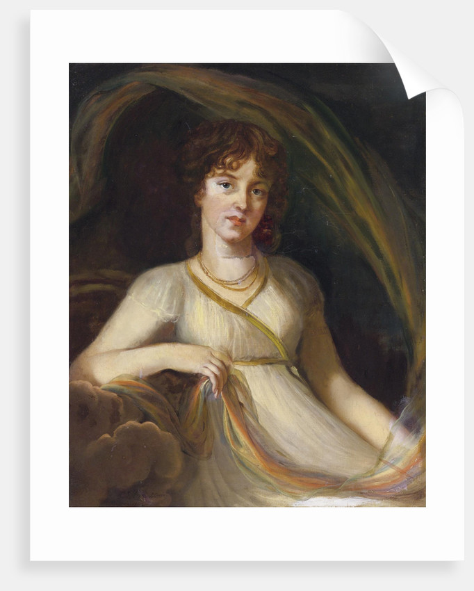 Portrait of Princess Ekaterina Osipovna Tyufyakina, née Khorvat as Iris, 1802 by Marie Louise Elisabeth Vigée-Lebrun