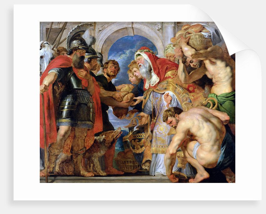 Abraham and Melchizedek, c. 1616-1618 by Anonymous