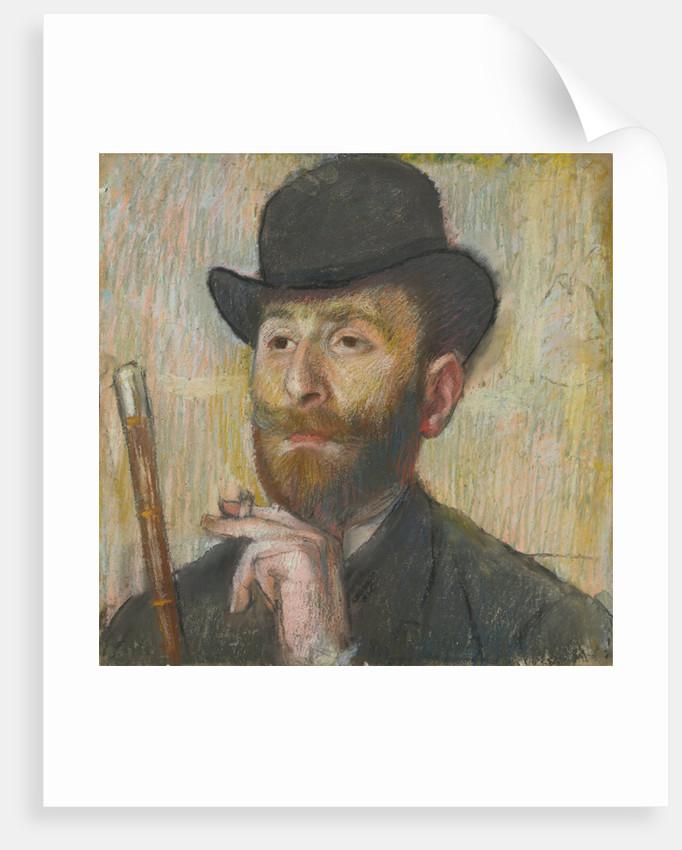 Portrait of the Painter Zakar Zakarian, ca 1885 by Anonymous
