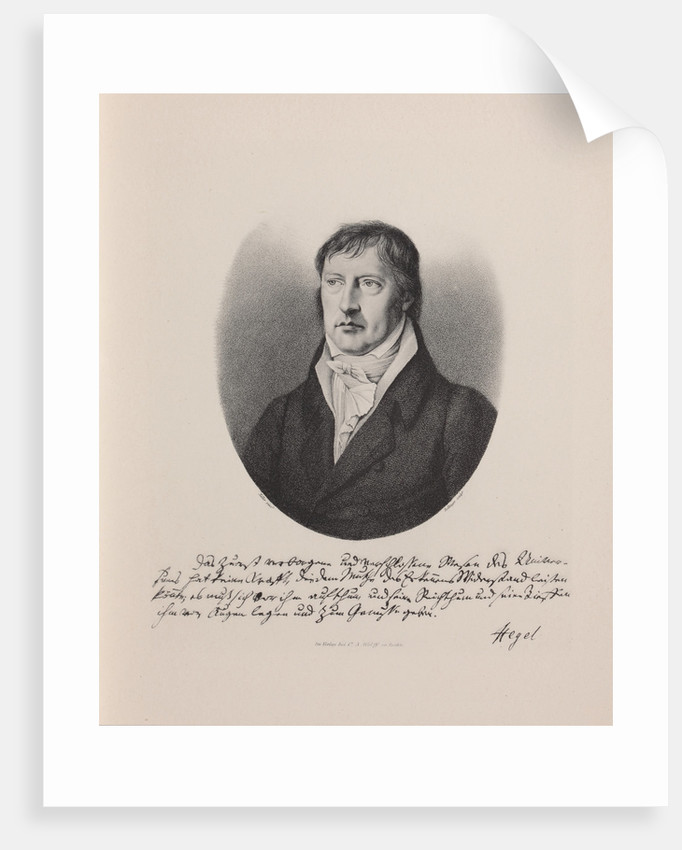 Georg Wilhelm Friedrich Hegel by Anonymous