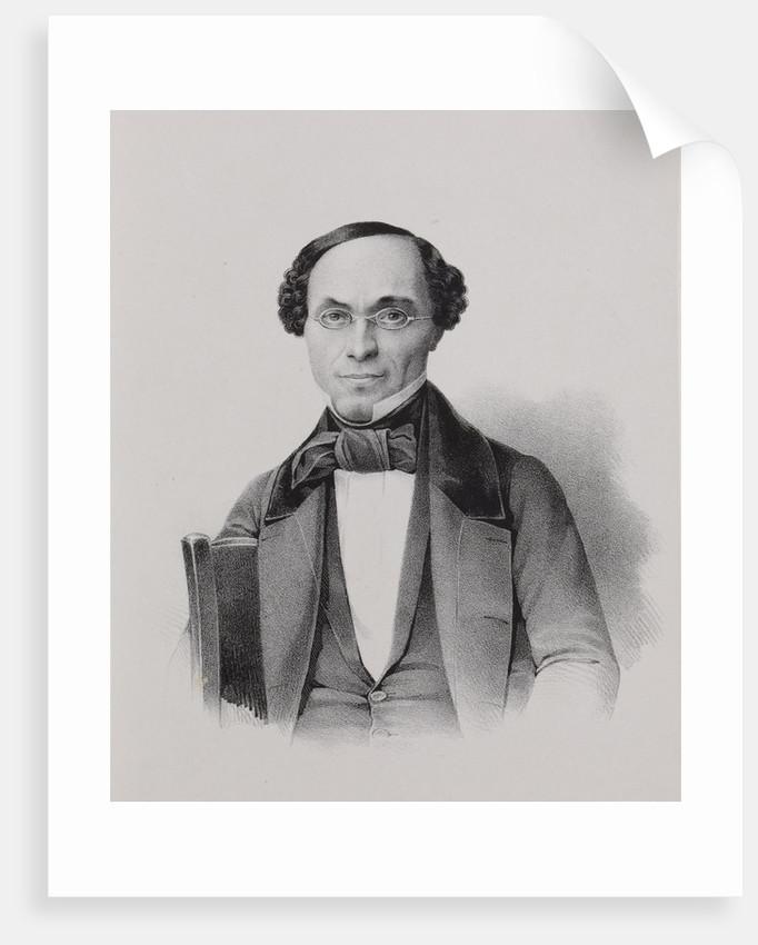 Portrait of Fyodor Alexeyevich Koni, 1840-1850 by Anonymous