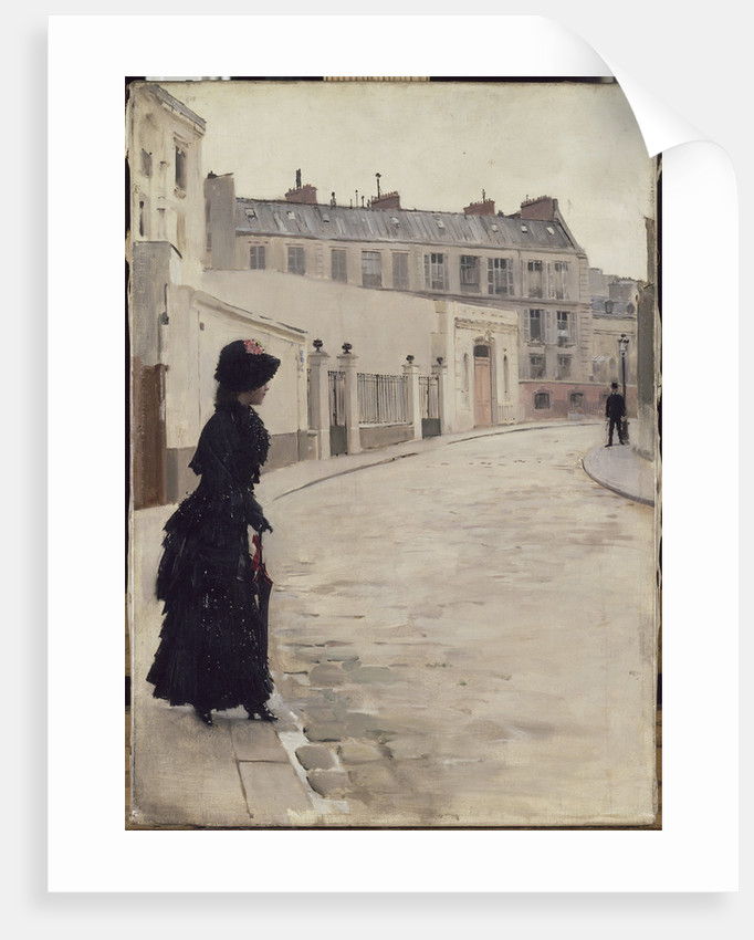 Waiting (Lattente), c. 1880 by Anonymous