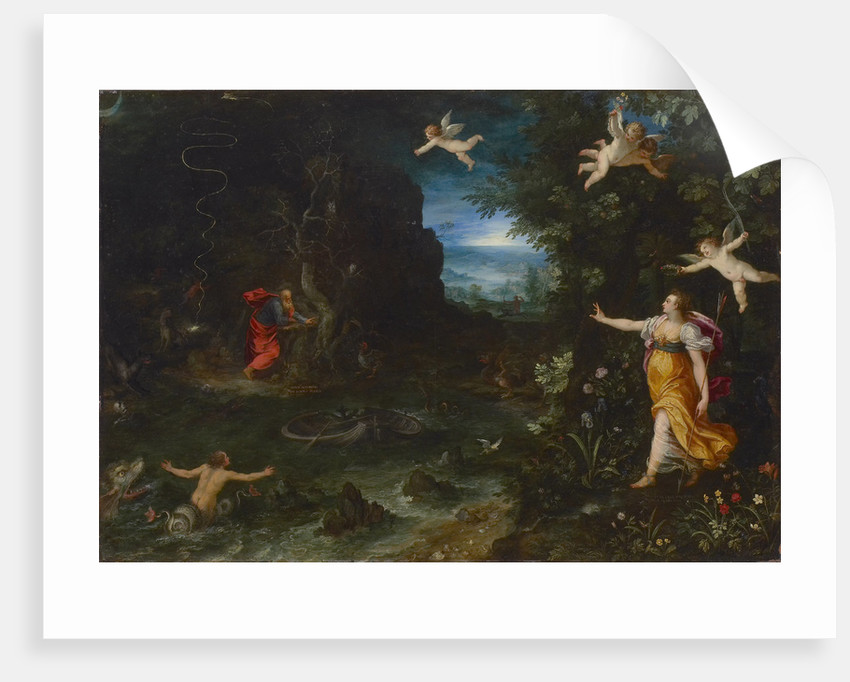 Allegory of Life (The Dream of Raphael), 1595 by Anonymous