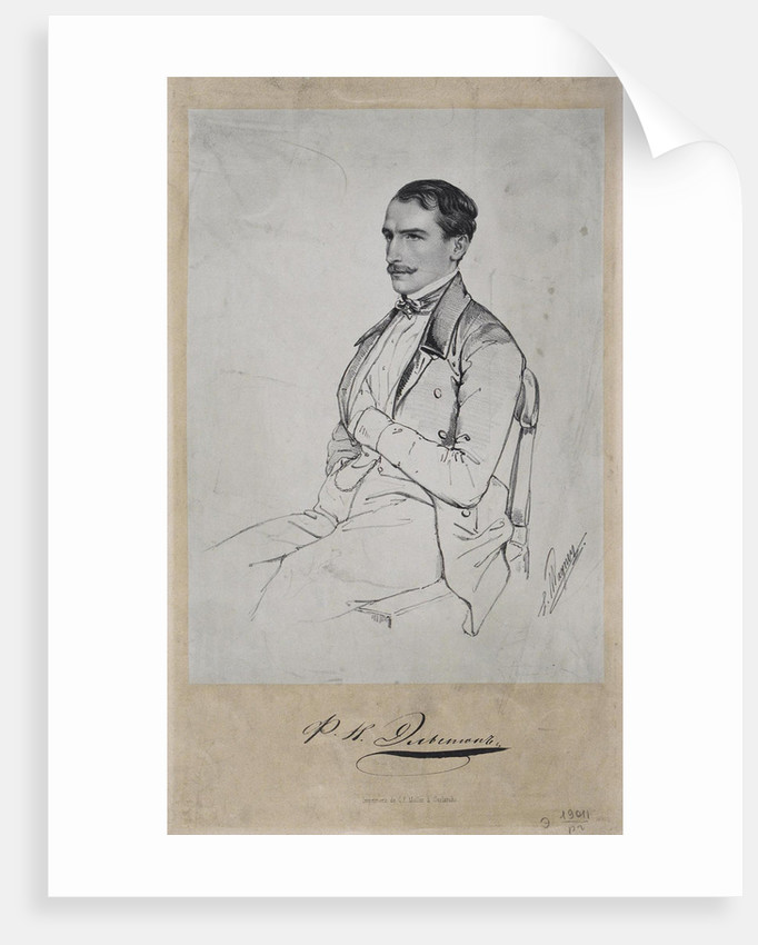 Portrait of Count Felix Nikolayevich Sumarokov-Elston by Anonymous