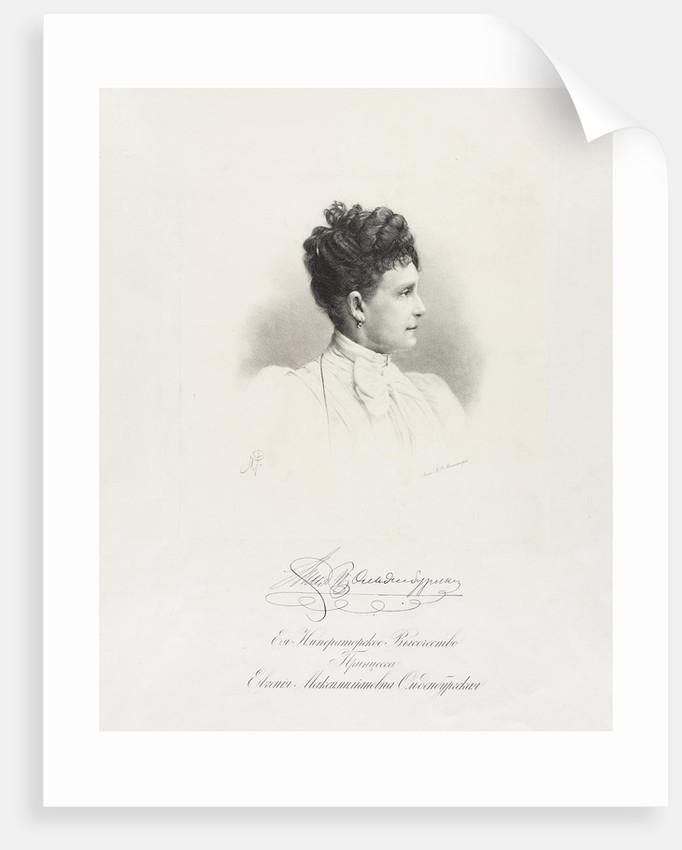 Portrait of Princess Eugenia Maximilianovna of Leuchtenberg by Anonymous