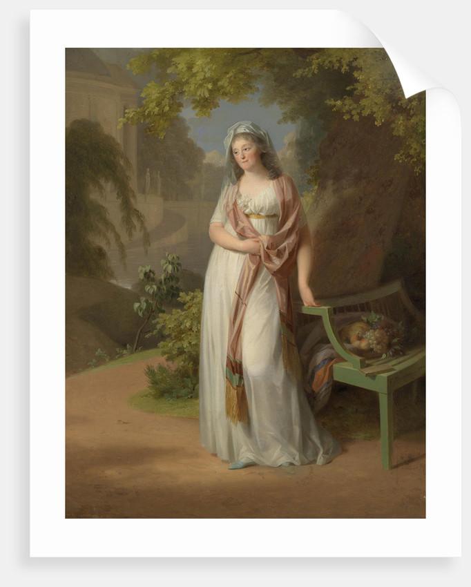 Portrait of Margravine Luise von Anhalt-Dessau by Anonymous