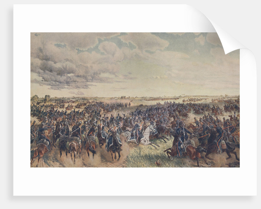 The Battle of Mir on 9 July 1812 by Anonymous