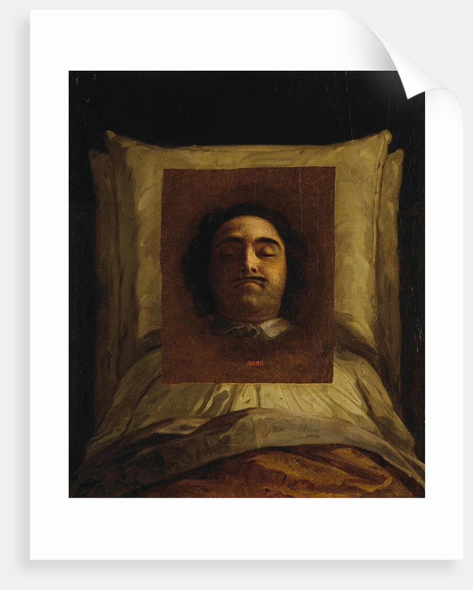 Peter I on His Deathbed by Anonymous