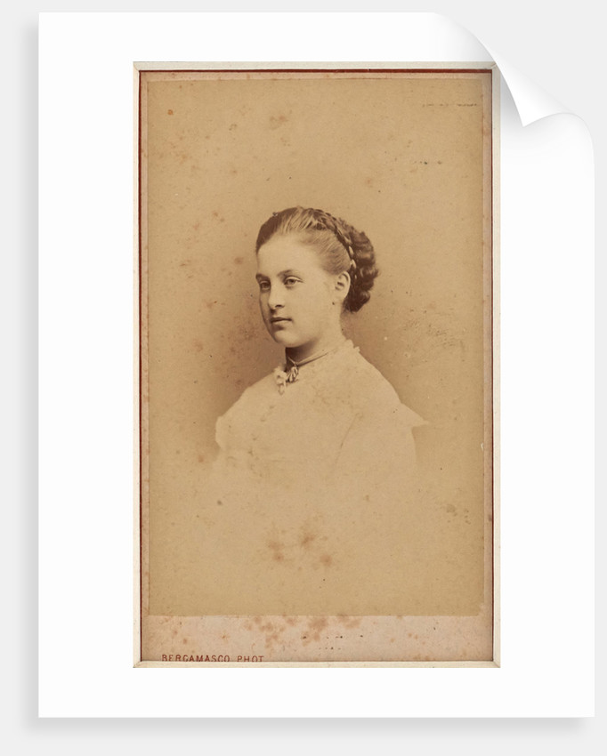 Portrait of Grand Duchess Olga Constantinovna of Russia by Anonymous