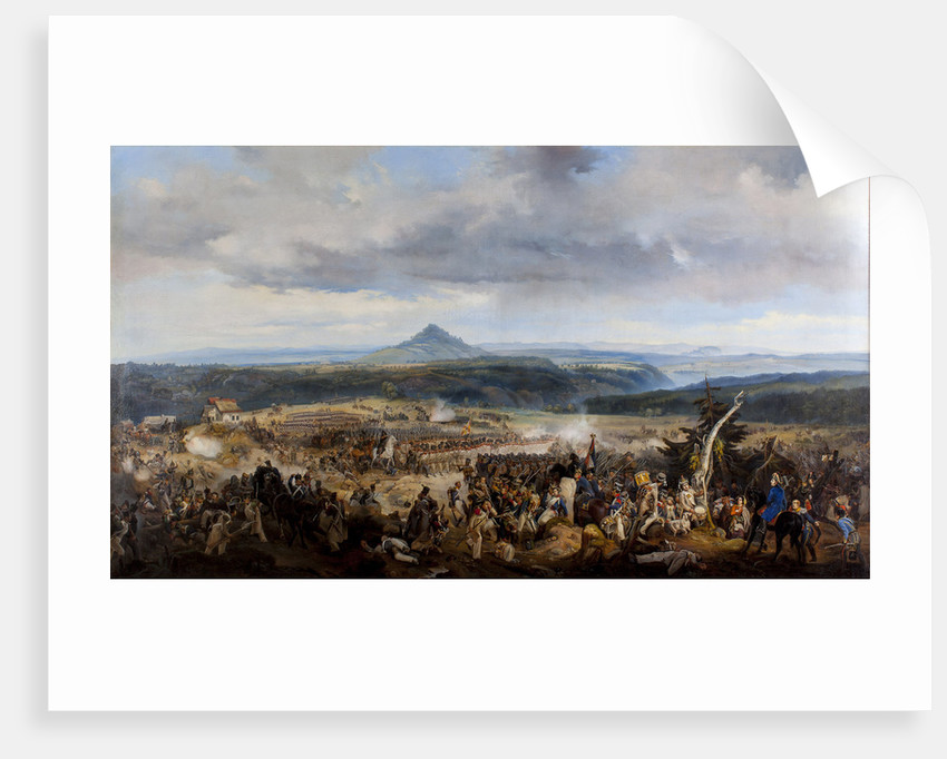The Battle of Giesshuebel on 1813 by Anonymous