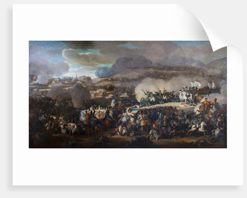 The Battle of the Nations of Leipzig on October 1813 by Anonymous